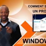 Comment supprimer un programmes sous Windows 10