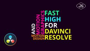 Comment créer une typographie avec Davinci Resolve