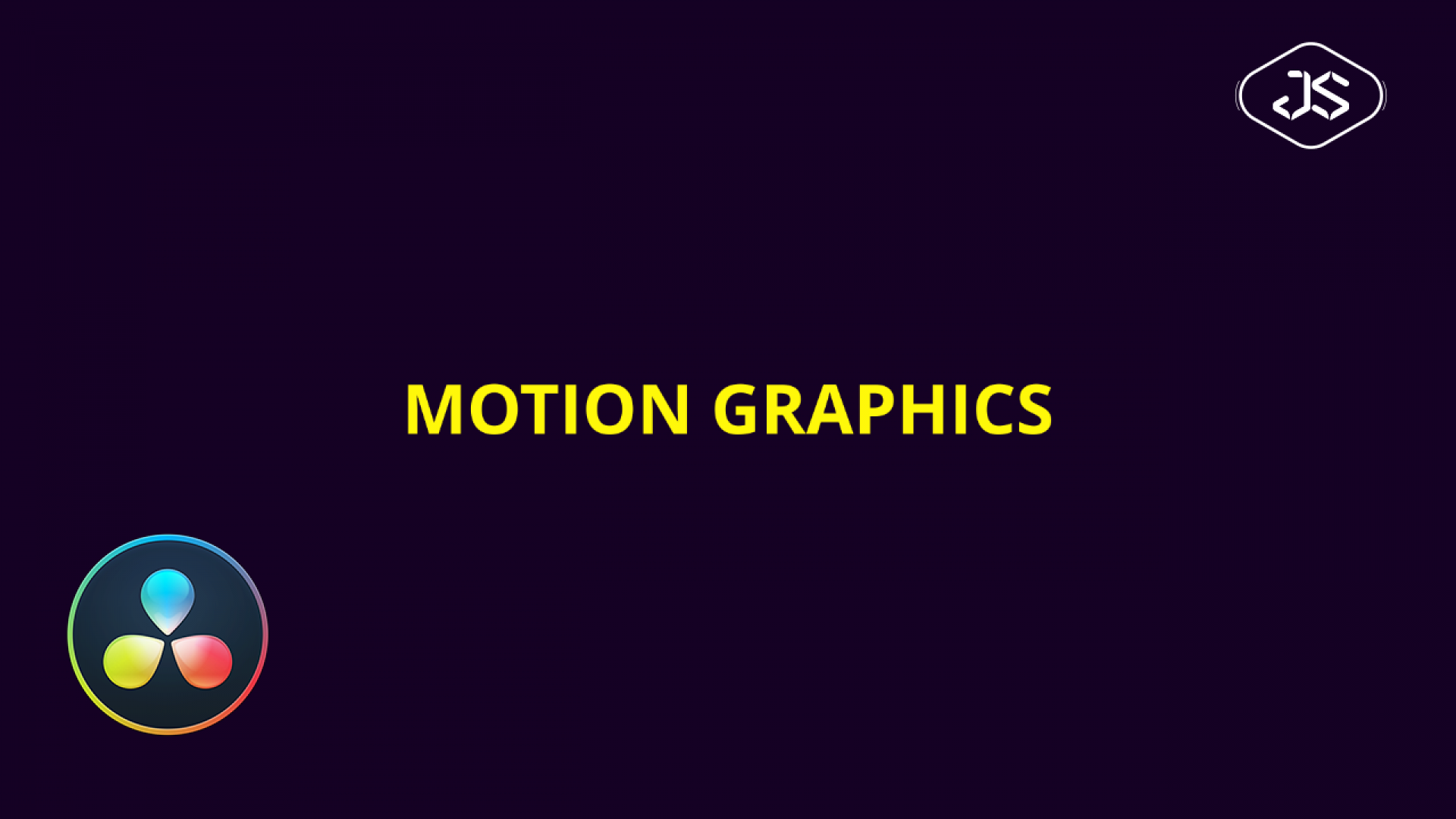 Davinci Resolve – Intro Title – Motion Graphics #40