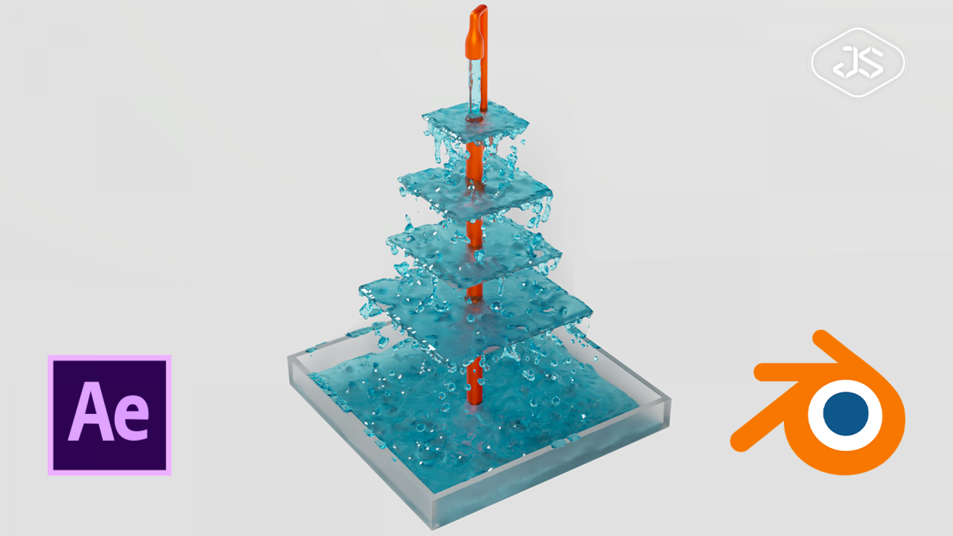 Simulations de Fluides avec Blender et After-Effects