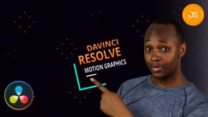 Technique d'animation Motion Graphics avec Davinci Resolve