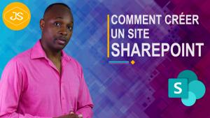 Créer un site d'équipe et de communication SharePoint
