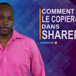 Comment faire le copier-coller dans SharePoint