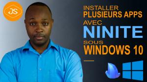 Installer plusieurs apps avec Ninite
