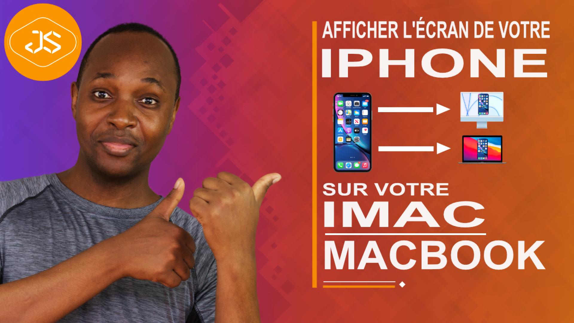 Comment afficher l'écran de votre iPhone sur votre iMac ou Macbook